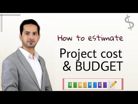 How to estimate cost of a Project & determine its Budget - by Ali Al Ahmed, PMP