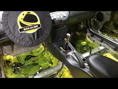 Nissan Primera проведена дополнительная шумоизоляция без сильного влияния на объём кошелька