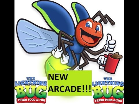New Arcade Tour - The Lightning Bug | Arcade Adventure | JJGeneral1