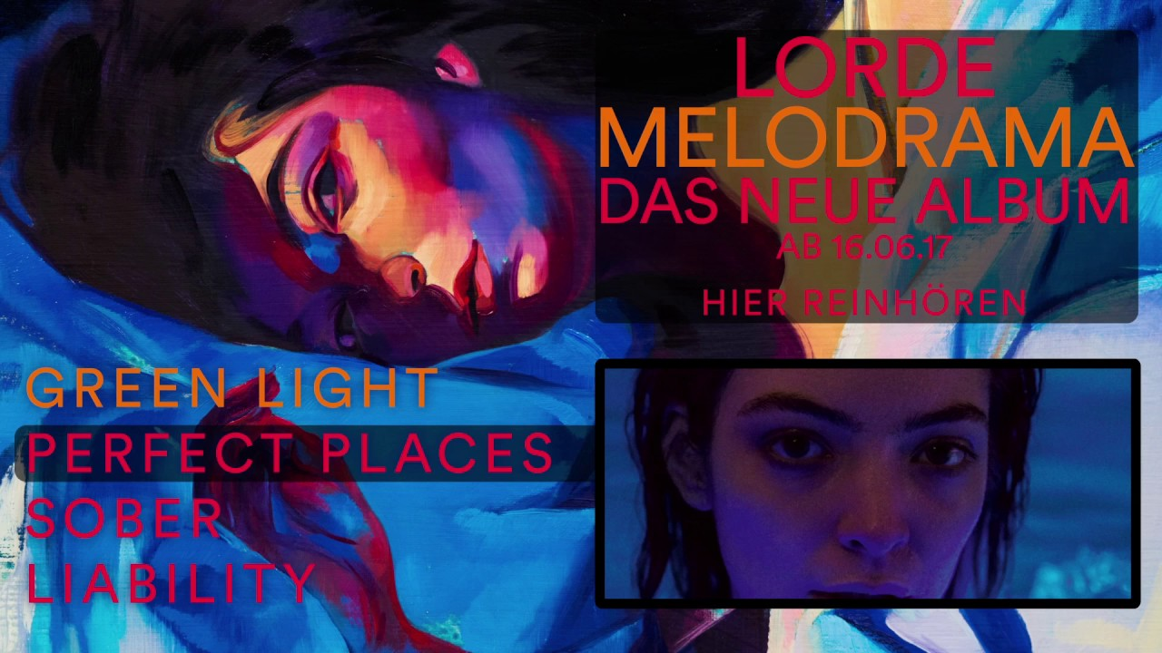 Lorde - Melodrama (Album Preview) - YouTube