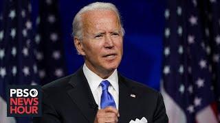 WATCH: Joe Biden's full speech at the 2020 Democratic National Convention