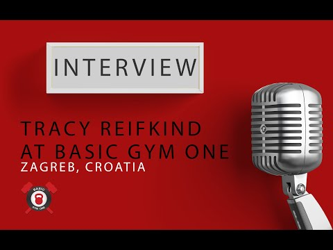 Interview with Tracy Reifkind at Basic Gym One in Zagreb (Croatia)