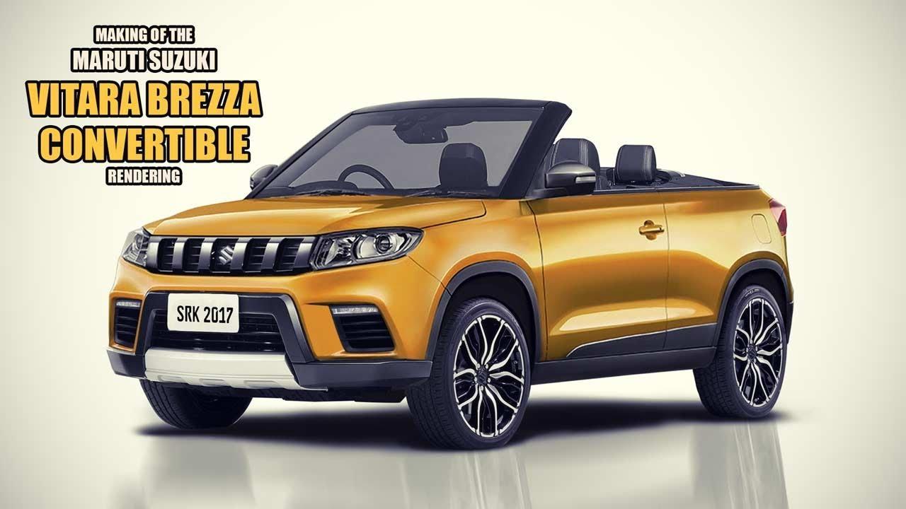 Maruti Suzuki Vitara Brezza Convertible SUV - Rendering ...