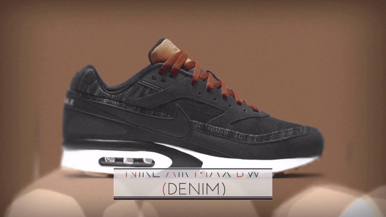 57b611b60e9 ... store nike air max bw denim sneakers t ee98e fa633 ...