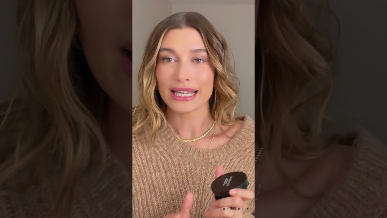 Hailey and Riley Are Loving The New Original Mineral Veil Pressed Setting Powder | bareMinerals