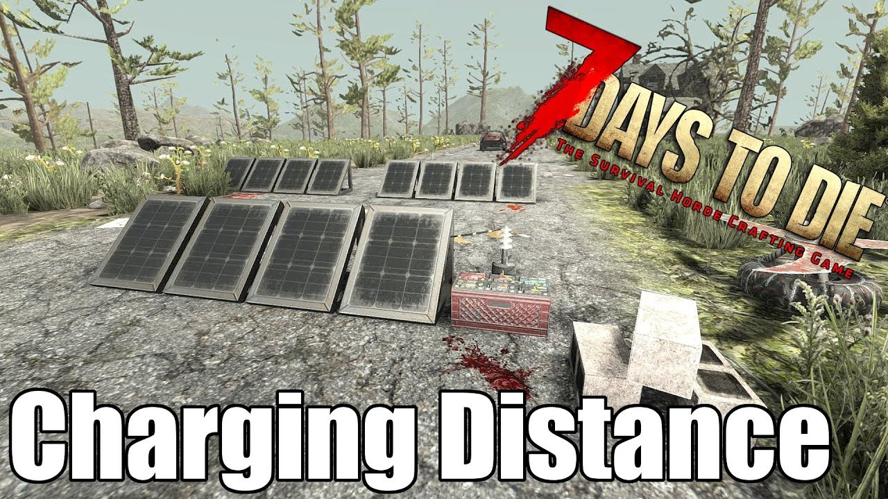 how to make solar bankss on 7 days to die