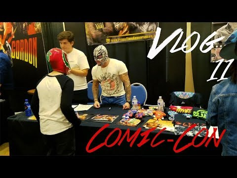 MEETING ACTORS, WRESTLERS, AND ARTISTS AT COMIC-CON 2018 | Vlog 11 | Albuquerque Comic Con 2018