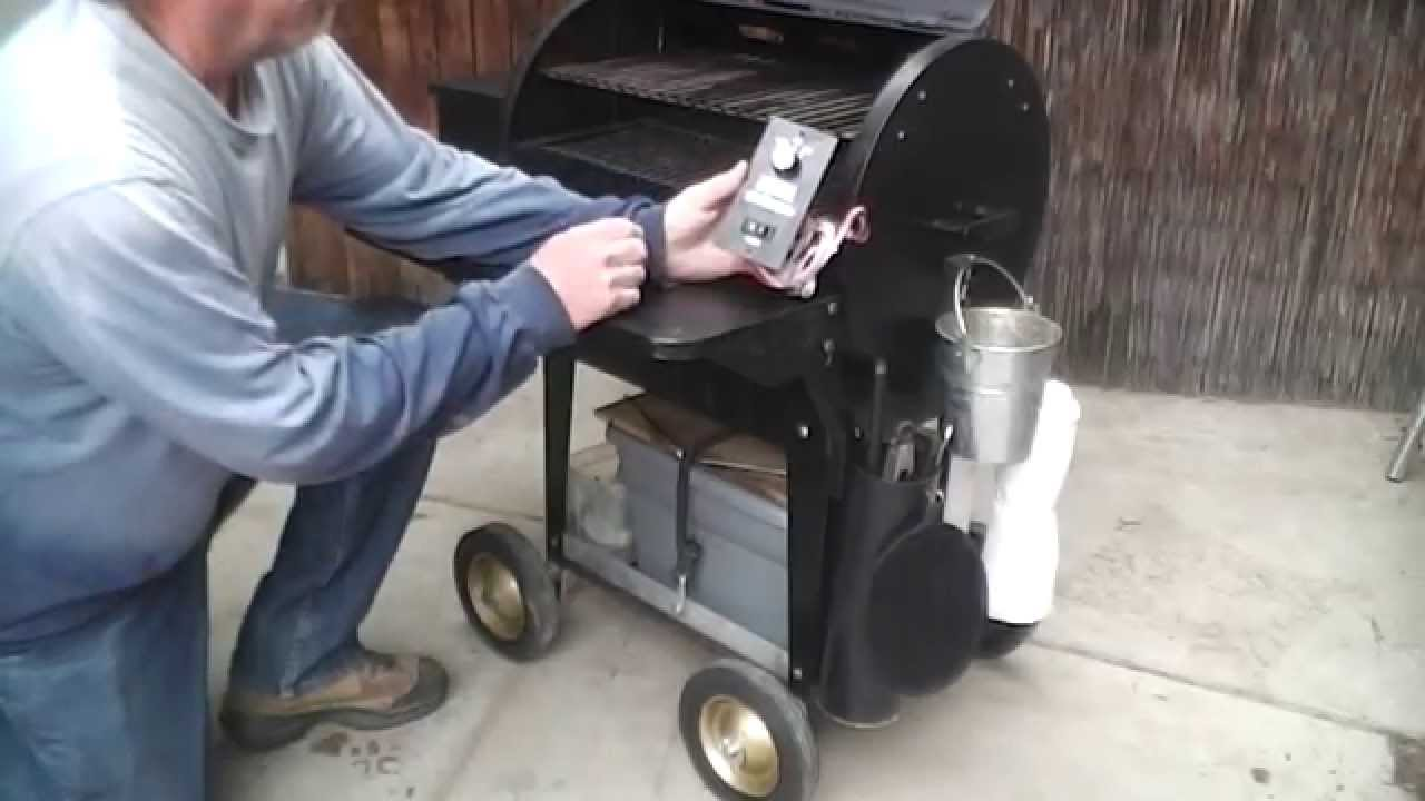 Traeger Junior Grill Modifications   YouTube