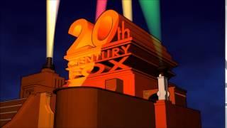20th Century Fox Logo (1953, Colour, CinemaScope Picture)