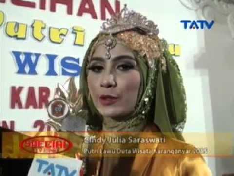 Grand Final Putra Putri Lawu Duta Wisata - Part 4 - Special Event TATV 19/09/2015