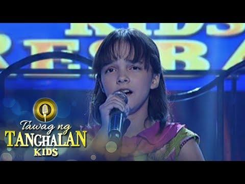 Tawag ng Tanghalan Kids: Mandy Sevillana | Lead Me Lord
