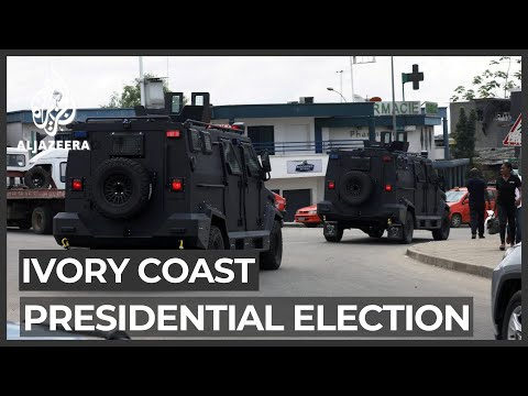 Tensions rise ahead of Ivory Coast election