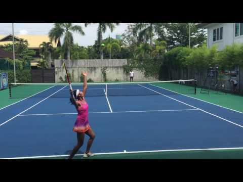 Rafaella Villanueva US College Tennis Recruiting Video -  Fall 2018