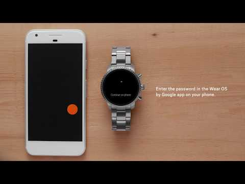 How To: Set Up Your Fossil Gen 4 Smartwatch V2