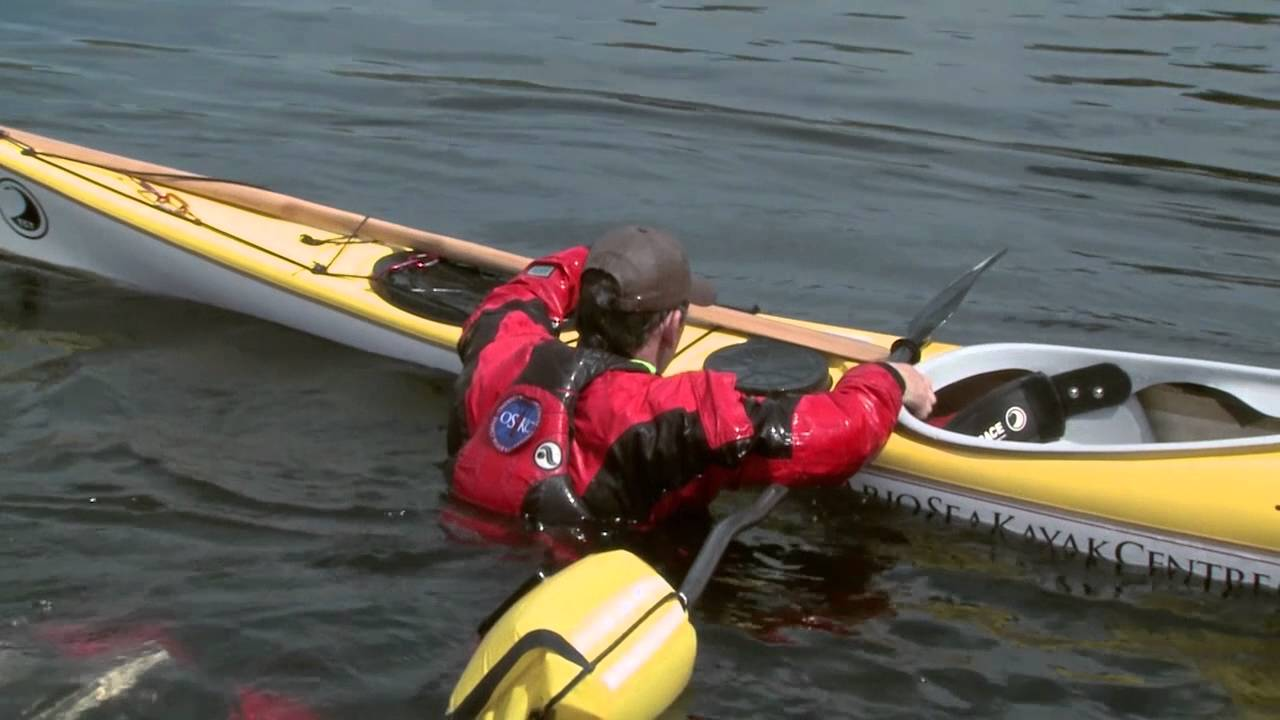how to put paddles on a kayak