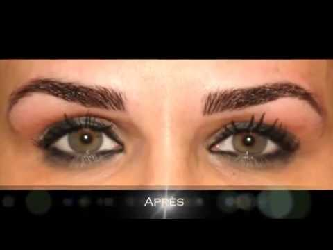 Top Copie de Maquillage Permanent Sourcils Poils à Poils Casablanca  TQ51