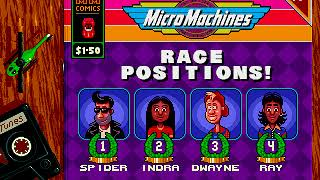 Mega Drive Longplay [459] Micro Machines: Turbo Tournament '96