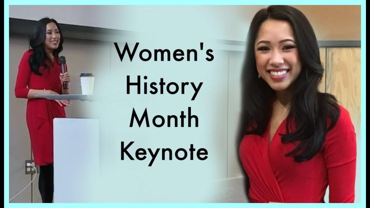 Women's History Month | My UW Seattle Keynote Speech