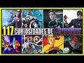117 DATOS CURIOSIDADES Y REFERENCIAS DE AVENGERS END GAME | ANZU361