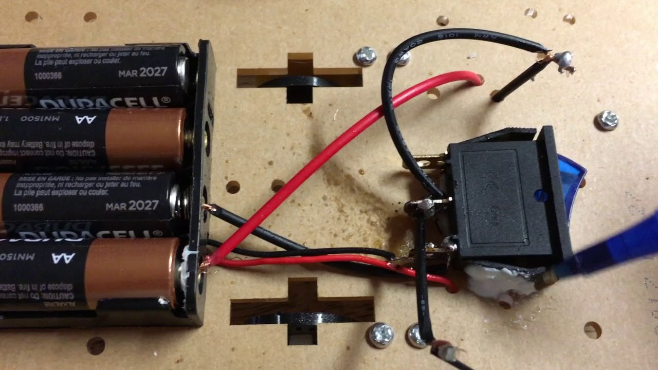 how to connect a toggle switch to a emgreat robot car