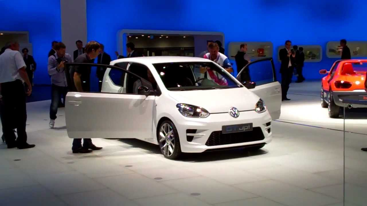 iaa 2011 vw up gt youtube. Black Bedroom Furniture Sets. Home Design Ideas