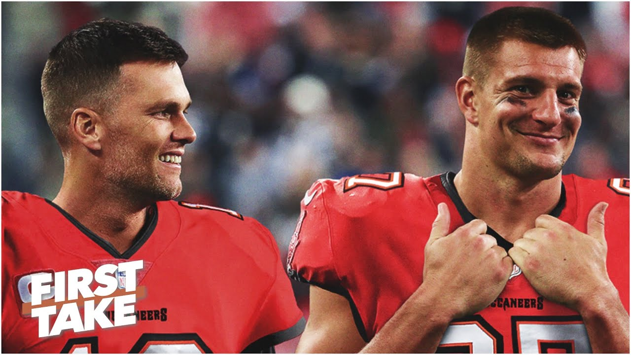 Stephen A Predicts Tom Brady And Rob Gronkowski Will Lead The Bucs To A Super Bowl First Take Youtube *all copyrights go to their respective owners* *no copyright infringement intended. tom brady and rob gronkowski