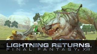 Gameplay Demo (The Wildlands) - LIGHTNING RETURNS: FINAL FANTASY XIII