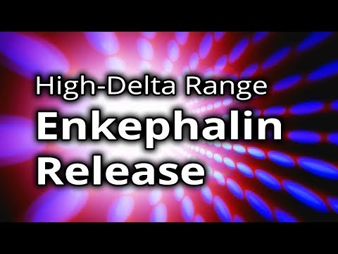 BINAURAL BEATS: Enkephalin Release ★ NATURAL PAIN KILLER & Stress Reduction
