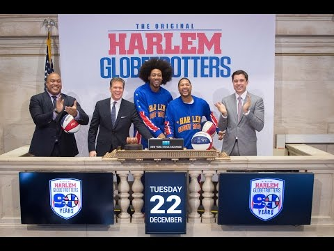 Globetrotters take over New York Stock Exchange
