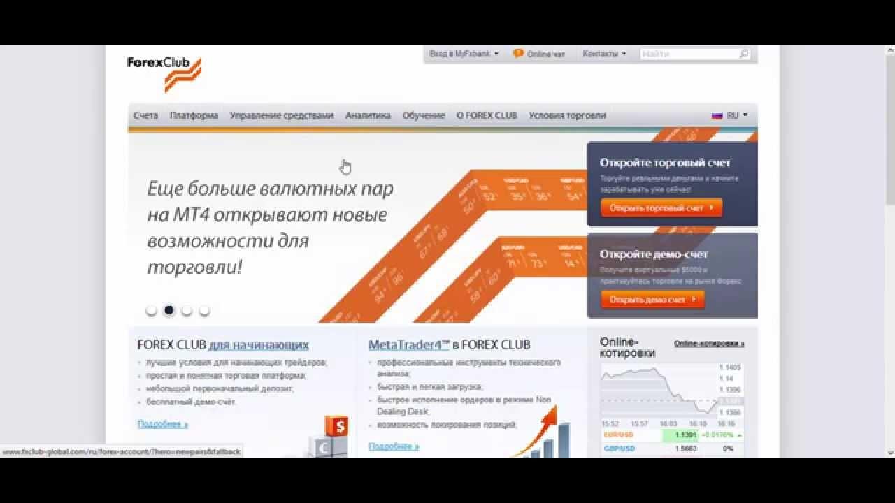 Форекс клуб официальный сайт аналитика онлайн торги валют на форекс
