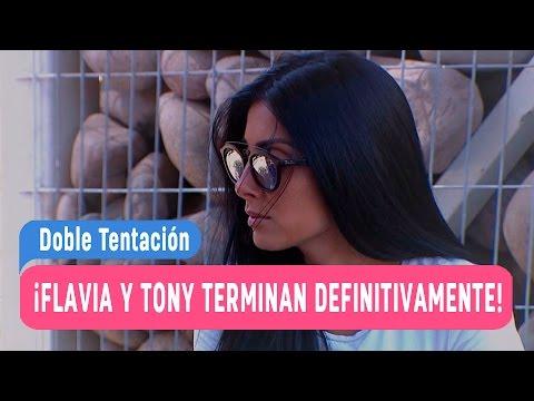 Doble Tentación - ¡Flavia y Tony terminan definitivamente! / Capítulo 68