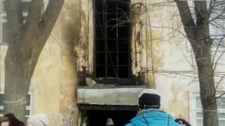 Пожар в Гороховце
