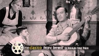 Pedro Infante cantando en La Vida no Vale Nada (1955) - Clip
