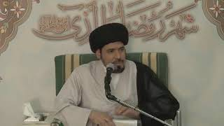 السيد منير الخباز - إخراج زكاة الفطرة قبل العيد في بلد الذي أعيش فيه بينما هو عيد في بلد أخر