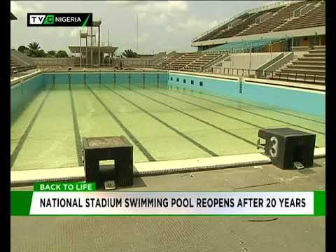 National Stadium Swimming Pool Reopens After 20 Years Youtube