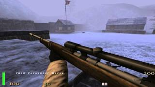 Return To Castle Wolfenstein Walkthrough Part 17 ( Ice Station Norway ) HD All Secrets