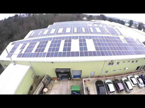 Ecolution's Solar PV Installation - Ruxley Manor Garden Centre