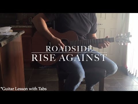 Rise Against - Roadside (Guitar Tutorial with Tabs)