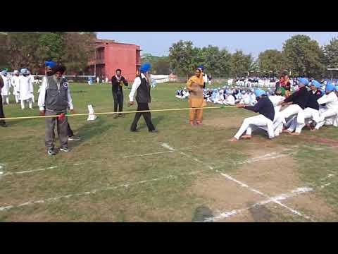 (Tug Of War) - Akal Academy Tallewal - (Karam Khand V/S Gian Khand)