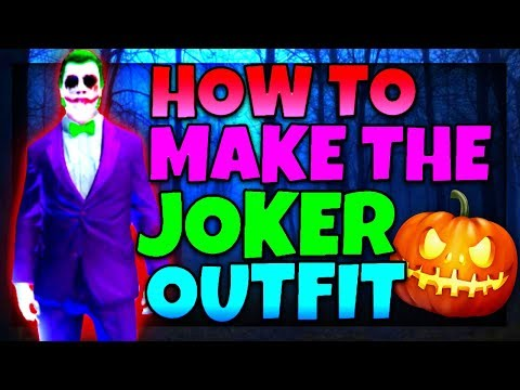 HOW TO MAKE THE JOKER OUTFIT ON GTA5 ONLINE 1.41 (GTA5 ONLINE JOKER OUTFIT)