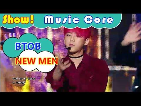 [Comeback Stage] BTOB - NEW MEN, 비투비 - 뉴맨 Show Music core 20161112
