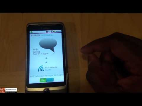 T-mobile G2  Wi-Fi Calling App Review| Booredatwork