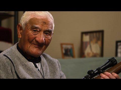 Waka Huia 2015 Jimmy Clair, the 86 year old hunter from Matamata