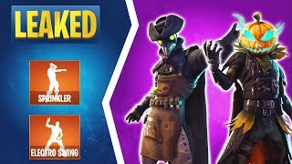 Fortnite 6.02 Leaked Skins: Plague Skin, Scourge Skin, Skull Trooper Set, New Emotes, & More