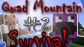 Quad Mountain Survival [Episode 2] - FIRST Chest encounter w/ Shane