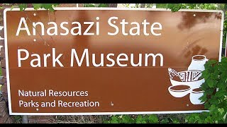 ANASAZI STATE PARK MUSEUM Ancestral Puebloan Hop Zuni Acoma Pueblo Mesoamerica Boulder, Utah USA
