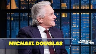 Michael Douglas Debunks Danny DeVito's Story About Saving His Life