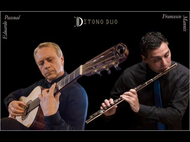 Entr´Acte pour Flûte et guitare, by Jacques Ibert (1890-1962) DITONO DUO