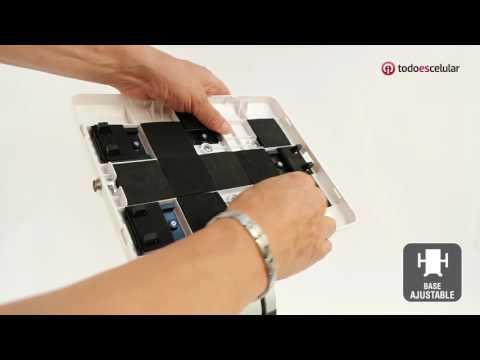 TSCLK14 Soporte Base De Seguridad Antirrobo Para IPad O Tablet Con Chapa Bancaria