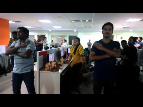 GD Research Centre, Hyderabad Flash Mob